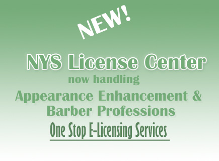 NYS License Center one stop e-licensing service