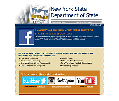 New York State Department of State  on Facebook